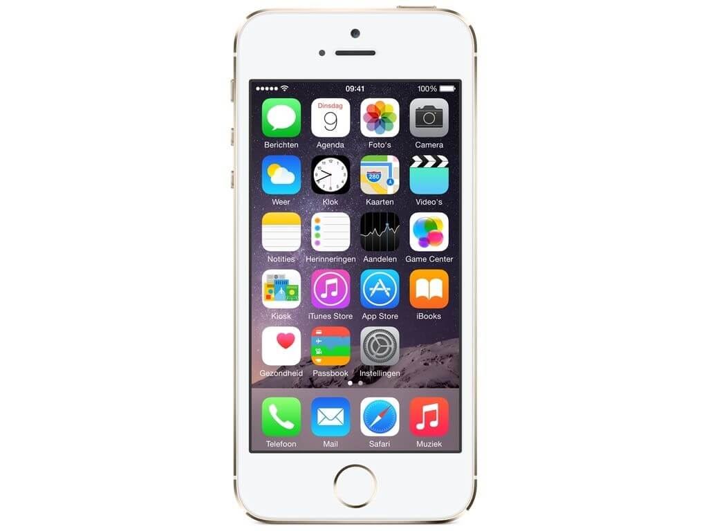 refurbished iphone 5s 16gb goud met garantie koop je bij mobico. Black Bedroom Furniture Sets. Home Design Ideas
