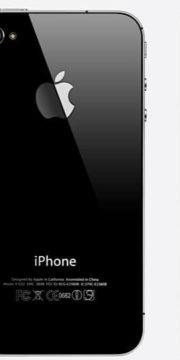 refurbished iphone 4s zwart achterkant