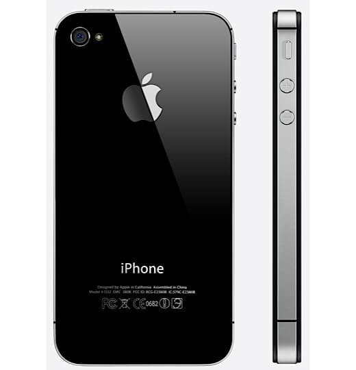 refurbished iphone 4s 16gb zwart met garantie koop je bij. Black Bedroom Furniture Sets. Home Design Ideas