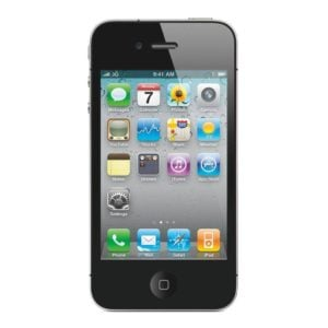 refurbished iphone 4s zwart voorkant