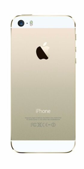 Refurbished iPhone 5s 16GB Goud Achterkant