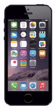 Refurbished iPhone 5s 16GB Zwart Voorkant