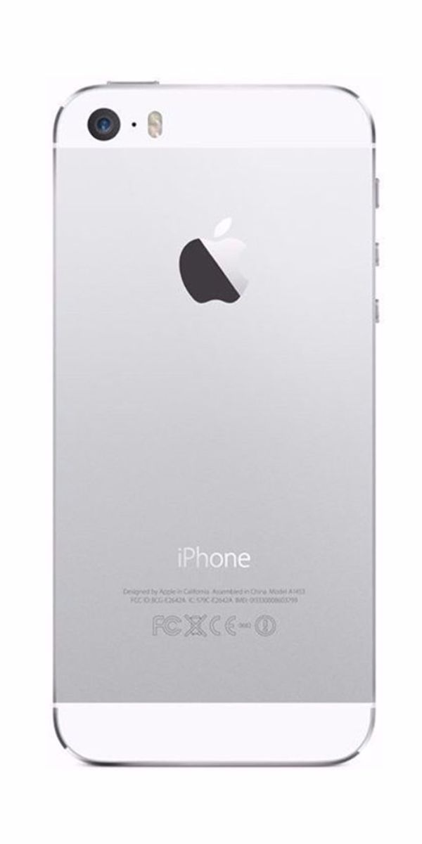 Refurbished iPhone 5s 32GB Wit Achterkant