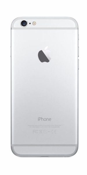 Refurbished iPhone 6 128GB Wit Achterkant