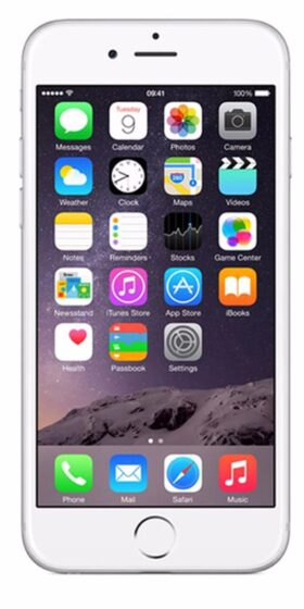 Refurbished iPhone 6 128GB Wit Voorkant