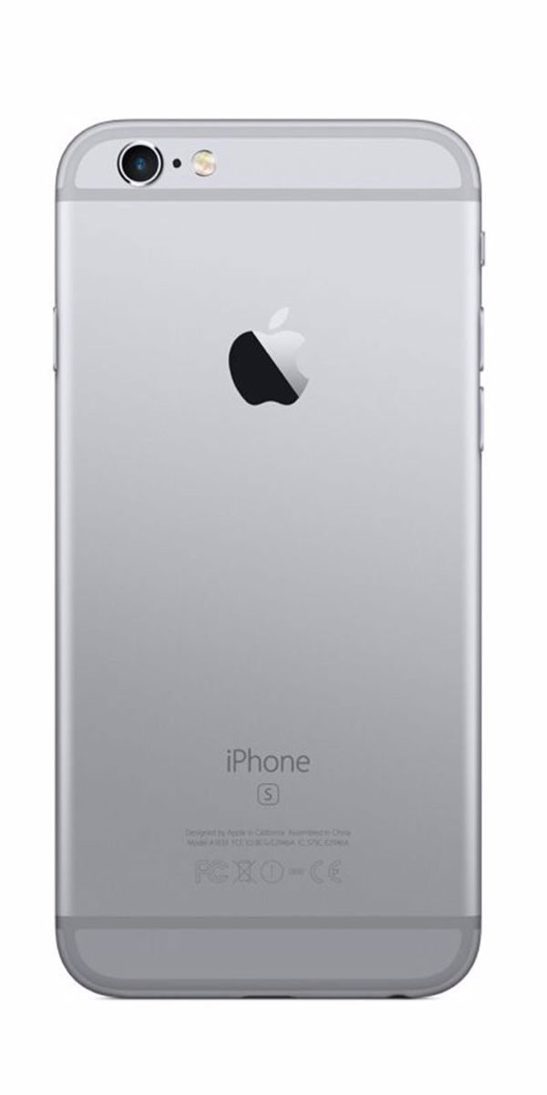 Refurbished iPhone 6 128GB Zwart Achterkant