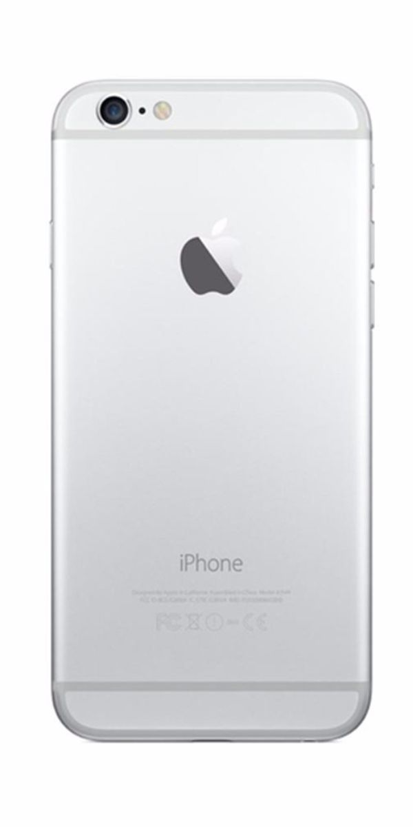 Refurbished iPhone 6 16GB Wit Achterkant