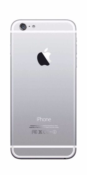 Refurbished iPhone 6 Plus 16GB Wit Achterkant