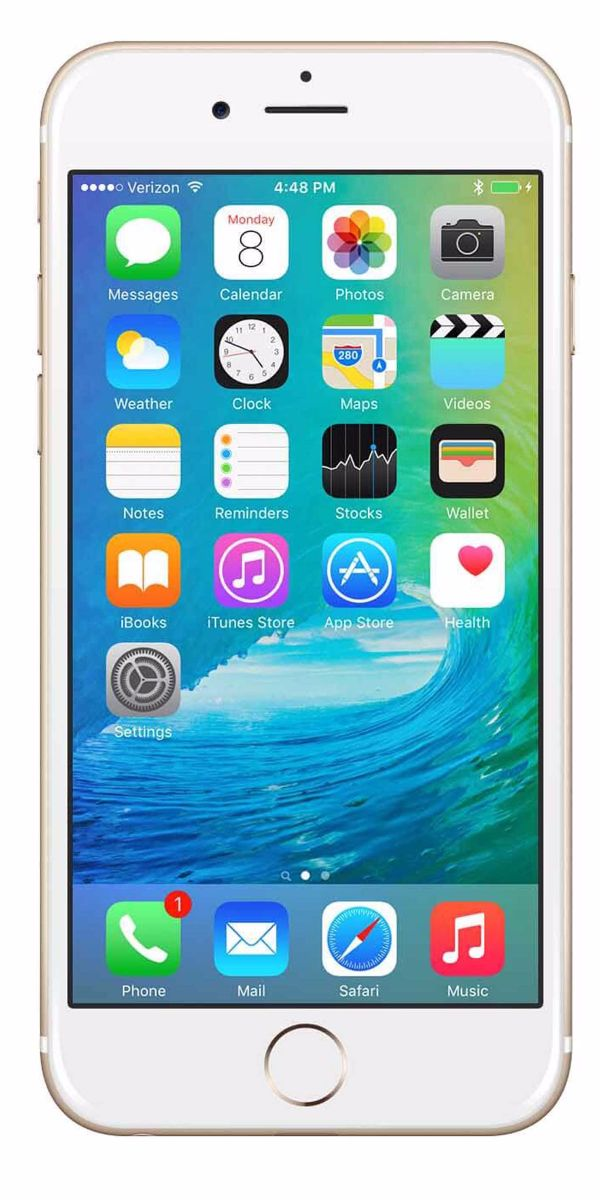 Refurbished iPhone 6s 16GB Goud Voorkant