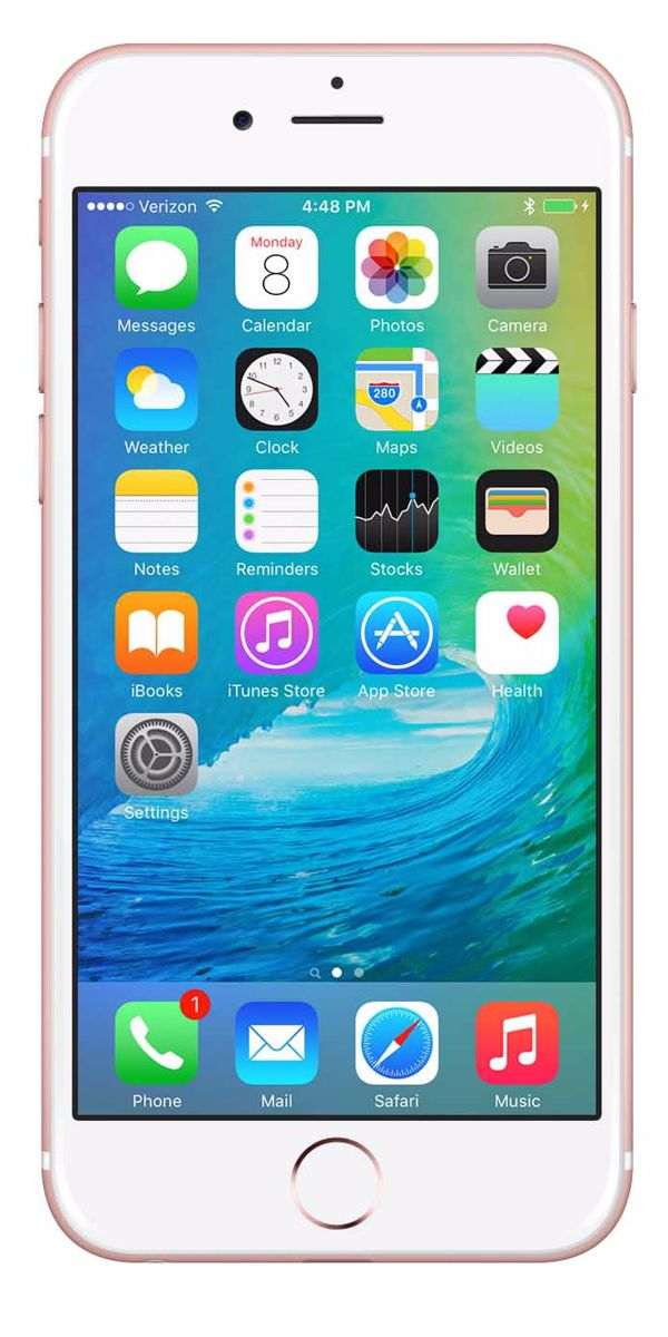 Refurbished iPhone 6s 64GB Roségoud Voorkant