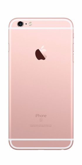Refurbished iPhone 6s 64GB Roségoud Achterkant