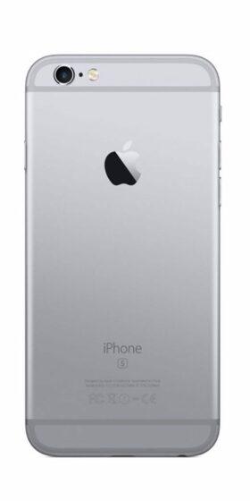 Refurbished iPhone 6s 64GB Zwart Achterkant