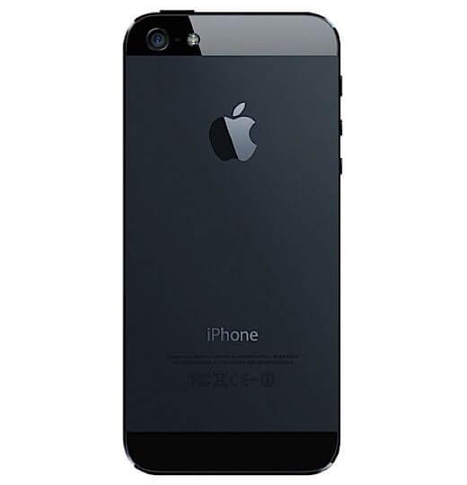 Iphone 5 zwart kopen