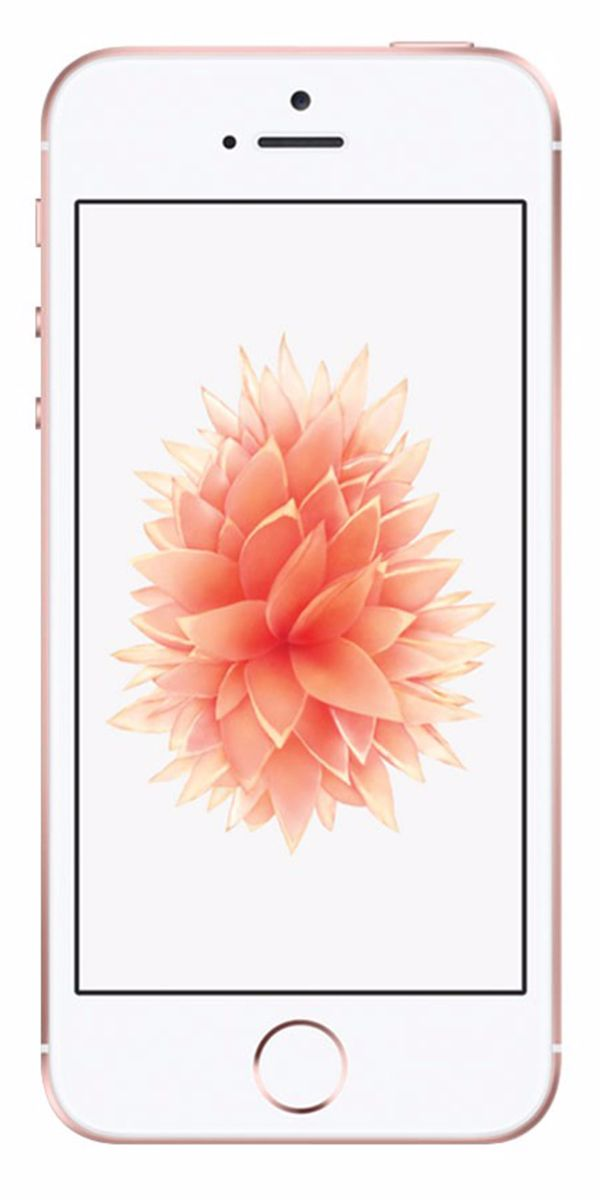 Refurbished iPhone SE 16GB Roségoud Voorkant