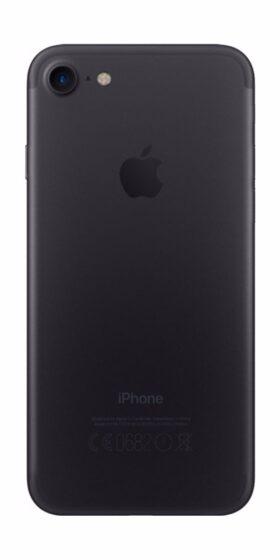 Refurbished iphone 7 Plus 256gb zwart achterkant