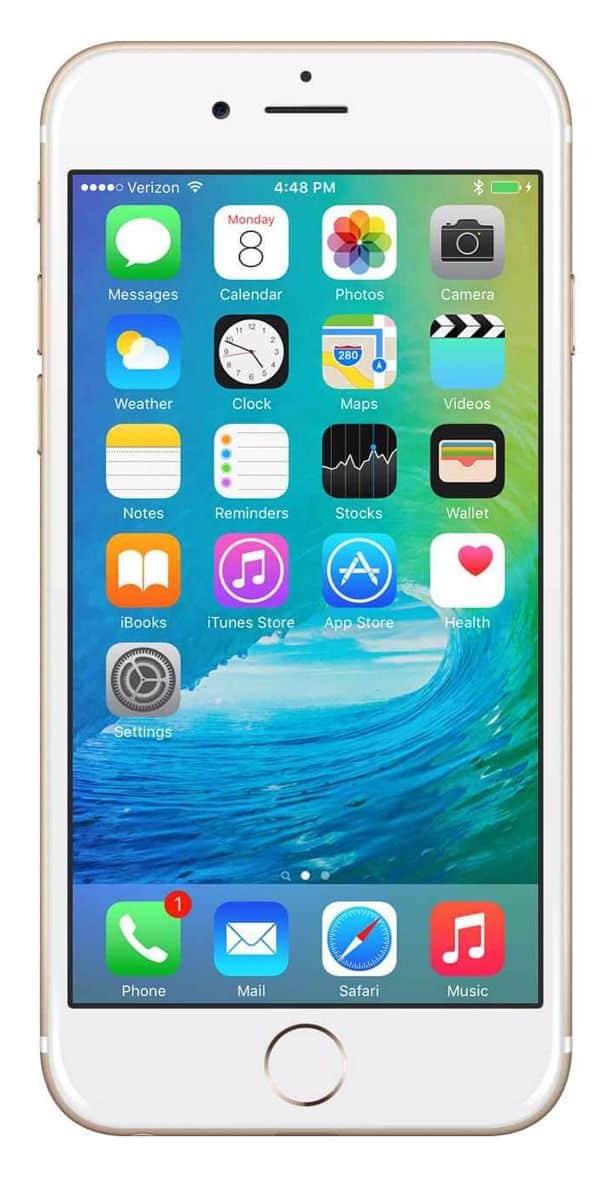 Refurbished iPhone 6s Plus 16GB Goud Voorkant