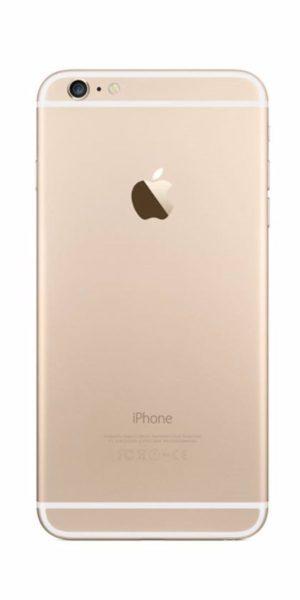 Refurbished iPhone 6s Plus 64GB Goud Achterkant