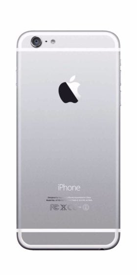 Refurbished iPhone 6 Plus 128GB Wit Achterkant