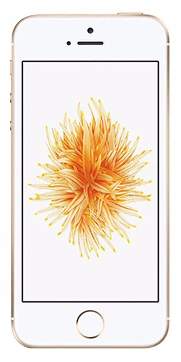 Refurbished iPhone SE 16GB Goud Voorkant