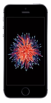 Refurbished iPhone SE 16GB Zwart Voorkant