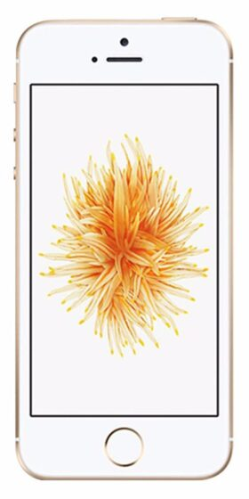 Refurbished iPhone SE 64GB Goud Voorkant