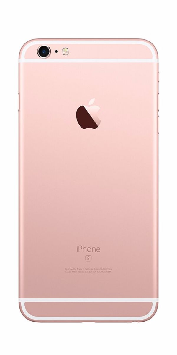 Refurbished iPhone 6s 128GB Roségoud Achterkant