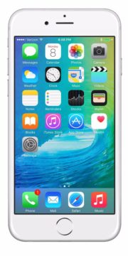 Refurbished iPhone 6s 128GB Wit Voorkant