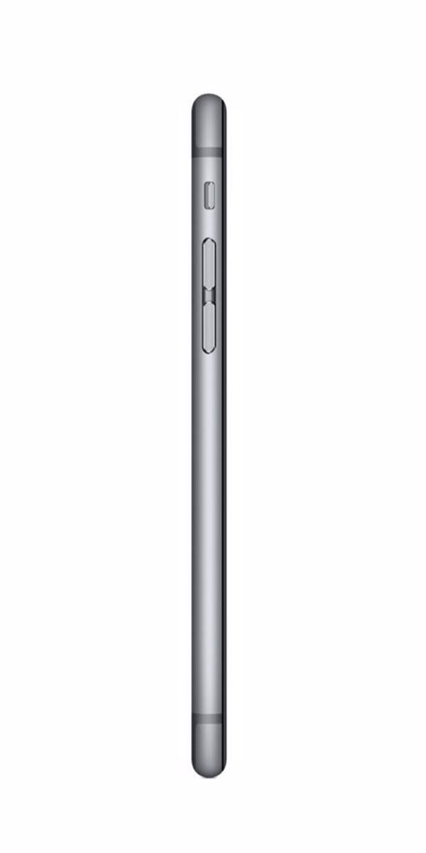 Refurbished iPhone 6s Plus 16GB Zwart Zijkant