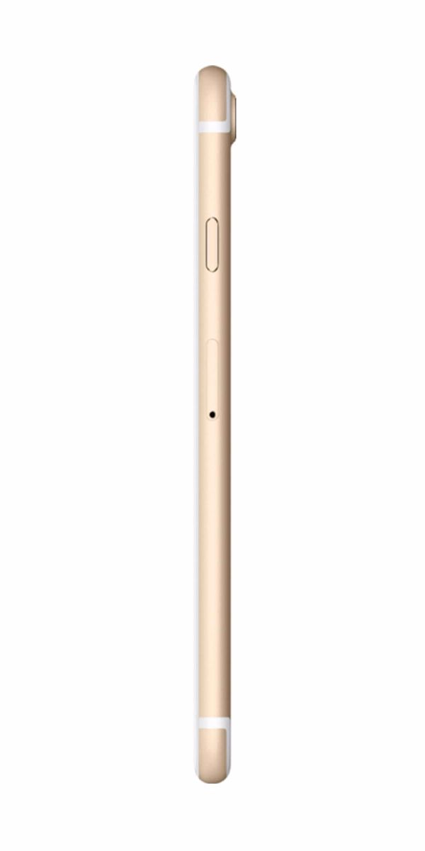 Refurbished iPhone 7 32GB Goud Zijkant