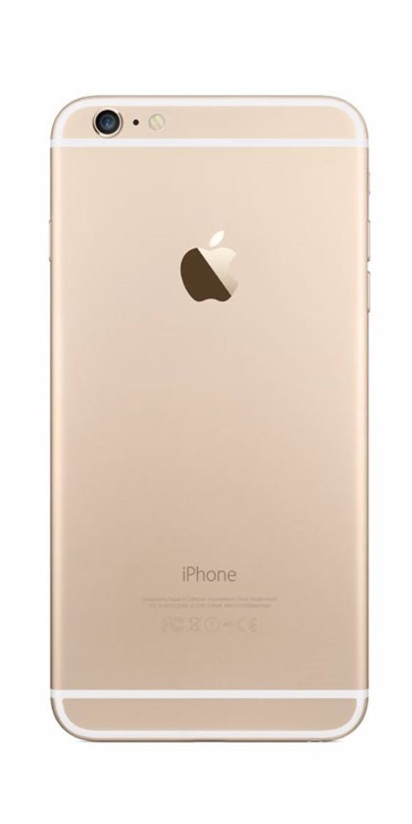 Refurbished iPhone 6 Plus 128GB Goud Achterkant