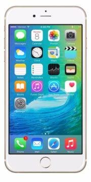 Refurbished iPhone 6 Plus 128GB Goud Voorkant