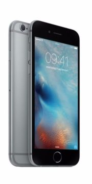 Refurbished iPhone 6 Plus 128GB Zwart Zijkant