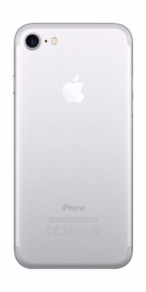 Refurbishe iPhone 7 256GB wit achterkant