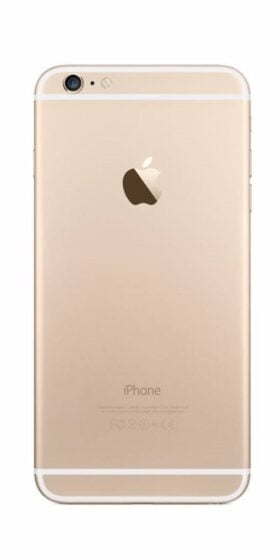 Refurbished iPhone 6s Plus 128GB Goud Achterkant