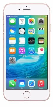 Refurbished iPhone 6s Plus 128GB Roségoud Voorkant