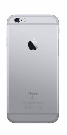Refurbished iPhone 6s Plus 128GB Zwart Achterkant
