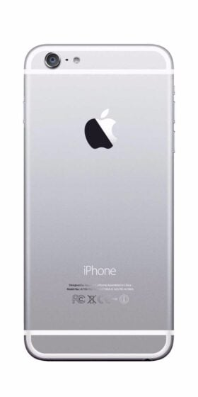 Refurbished iPhone 6s Plus 64GB Wit Achterkant