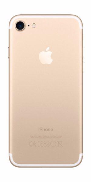 Refurbished iPhone 7 128GB Goud Achterkant