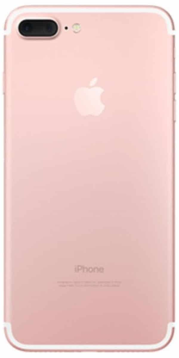 Refurbished iPhone 7 Plus Rose Goud Achterkant