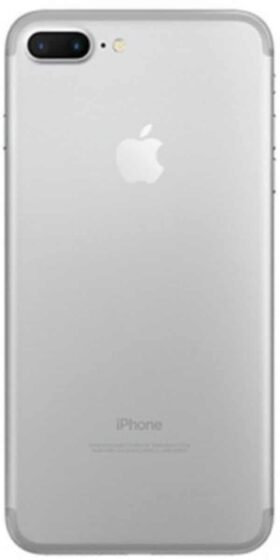 Refurbished iPhone 7 Plus Wit Achterkant