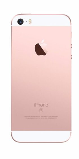 Refurbished iPhone SE 32GB Roségoud Achterkant