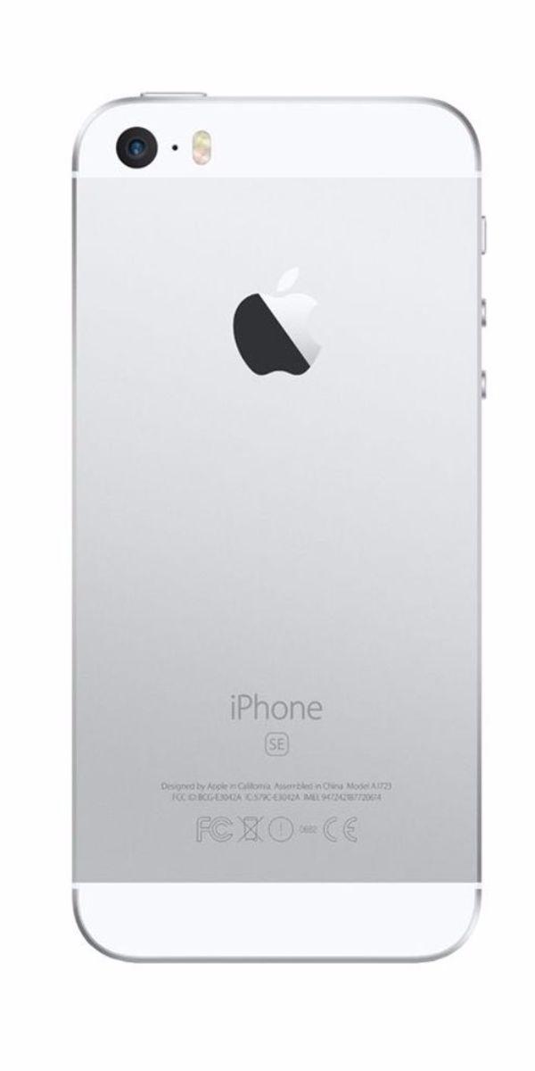 Refurbished iPhone SE 32GB Wit Achterkant