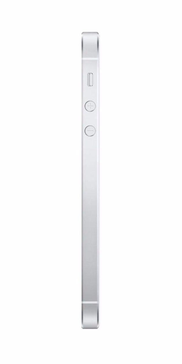 Refurbished iPhone SE 32GB Wit Zijkant