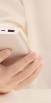 Xiaomi Mi Powerbank 2 10.000mAh Zilver-front