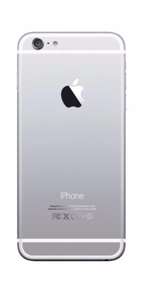 Refurbished iPhone 6s 32GB Wit Achterkant