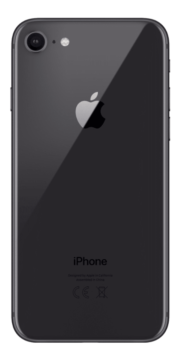 Refurbished iPhone 8 256GB Space Grey Achterkant