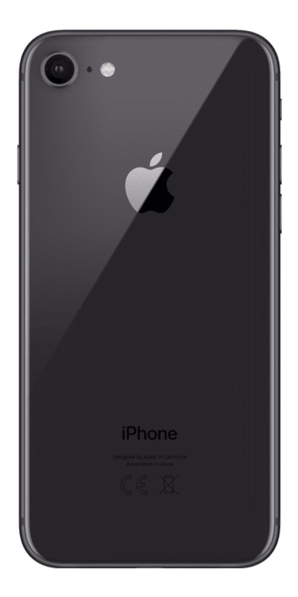 Refurbished iPhone 8 256GB Space Grey Achterkant