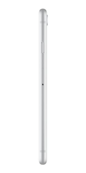 Refurbished iPhone 8 256GB Zilver Zijkant