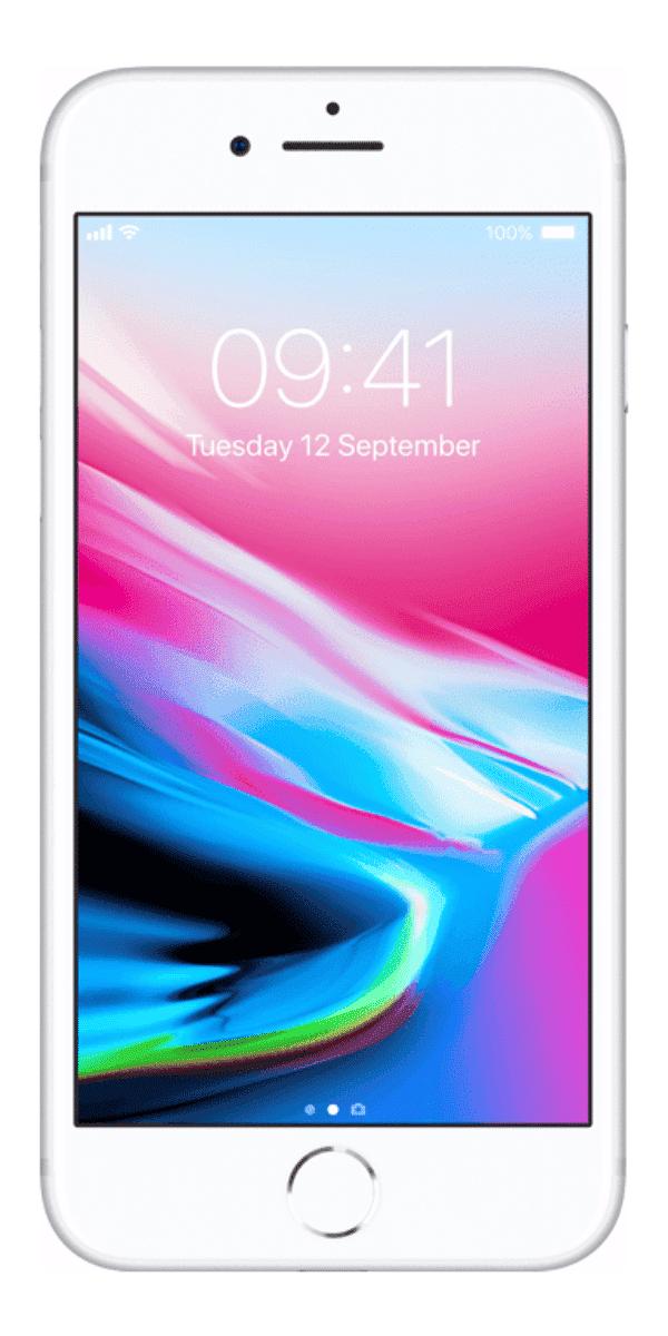 Refurbished iPhone 8 256GB Zilver