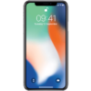 iPhone X zilver